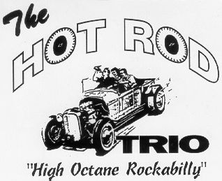 The Hot Rod Trio - T-Shirt logo