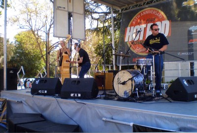 The Hot Rod Trio at the 65th anniversary of Hot Rod Magazine