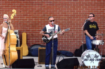 The Hot Rod Trio at he Downtown Fullerton Concert Series